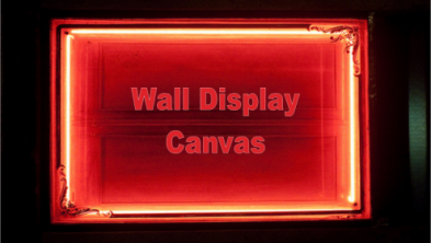 Wall Display Canvas